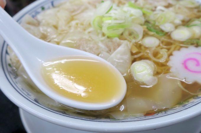「中華そば 三太」中華そばは減塩スープで優しい味