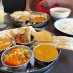 シヴァ・マハルでのお食事の様子