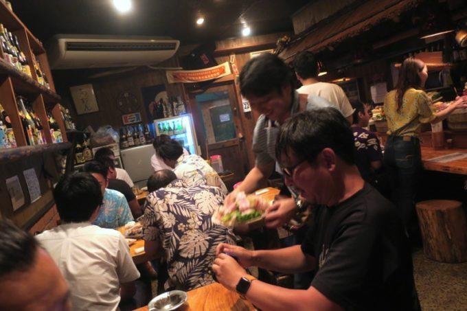 那覇・栄町「串焼き あだん 別館」へokamoooさんたちと一緒に行ってきた。