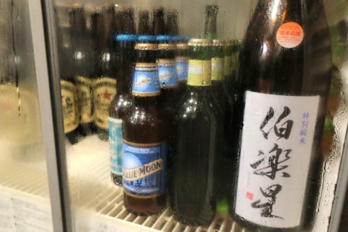 さすが瓶ビール班長のお店、瓶ビールも数種類。