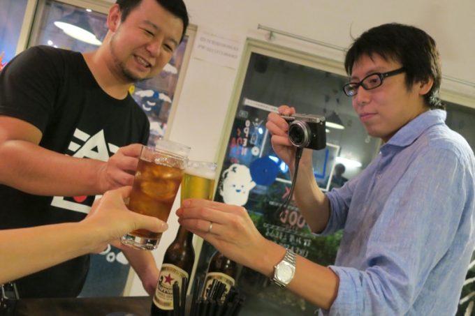 ビールブロガーたちと乾杯の儀