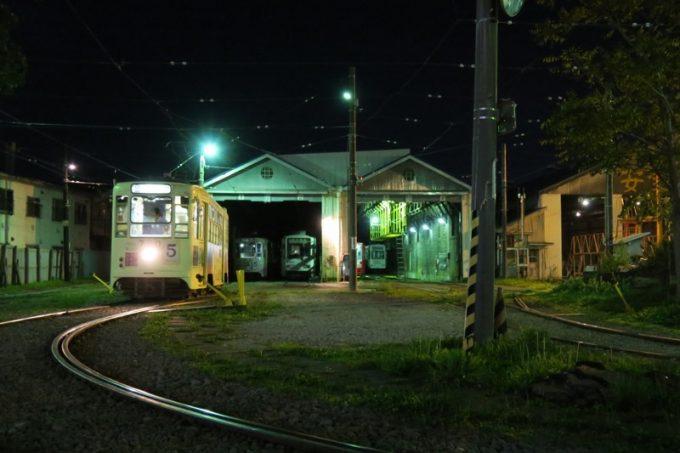 函館の駒場車庫前