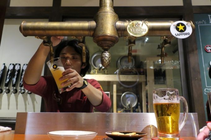 新宿御苑前「Highbury-The Home of Beer-」のVICE CHIEF兼BREWERの榮川さん