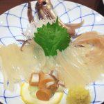 函館「いか清 本店」宴会コースの活いか