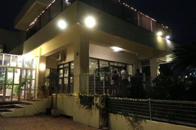 「天久テラス」は一軒家をレストランに改装している