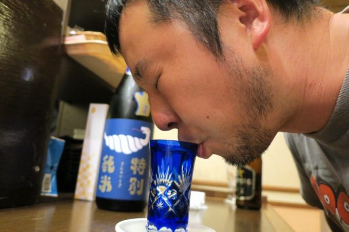 ご主人サマー曰く「僕の好きなタイプの日本酒!」