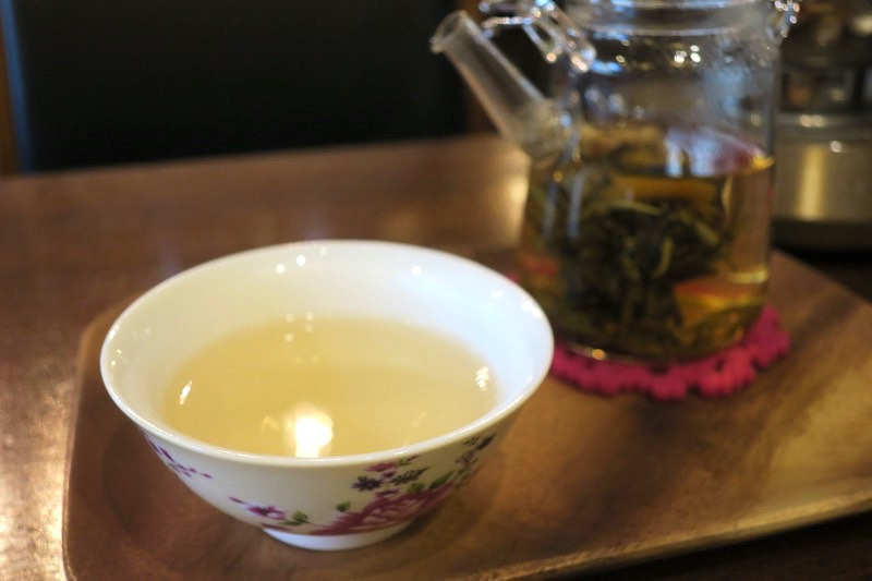 ジャスミンの香りたっぷりの美味しい茉莉龍珠