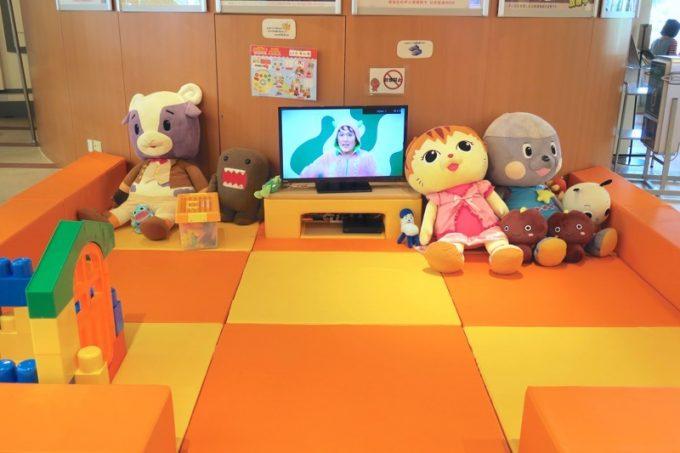 NHK沖縄放送局のキッズスペース