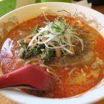 ねり胡麻の香りと辣の辛さがたまらない、四川担々麺(720円)の大盛り(+100円)