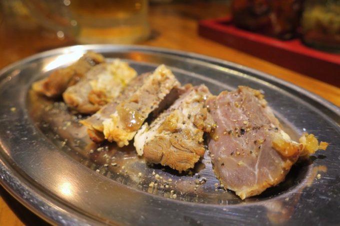 那覇・栄町「トミヤランドリー」天然猪のソフトジャーキー(450円)