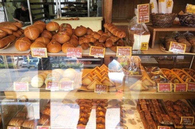 「BOULANGERIE BZ(ブーランジェリービズ)」で販売されている様々なパン(その2)