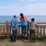 両親と知念岬に行って来た。