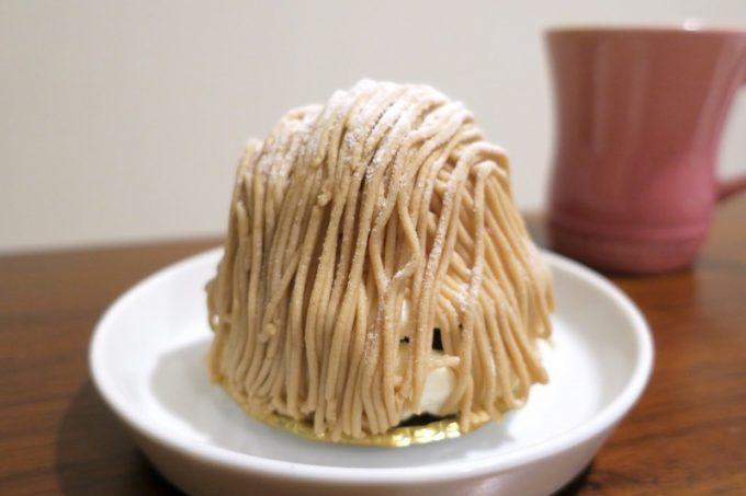 「いまいパン」のモンブランカシス(430円)