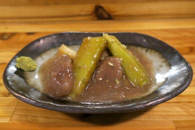 「和飲食堂」鴨とネギの治部煮(600円)