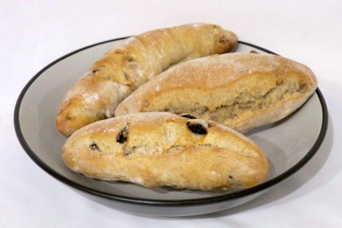 レーゲンスのドイツパンを3種類買ってみた。