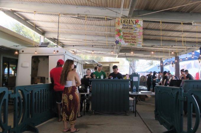 オクマビーチフェストは、アルコールを楽しむイベントのようだ