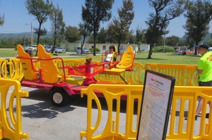 子供に人気の移動式遊園地「ファンランド」(その3)