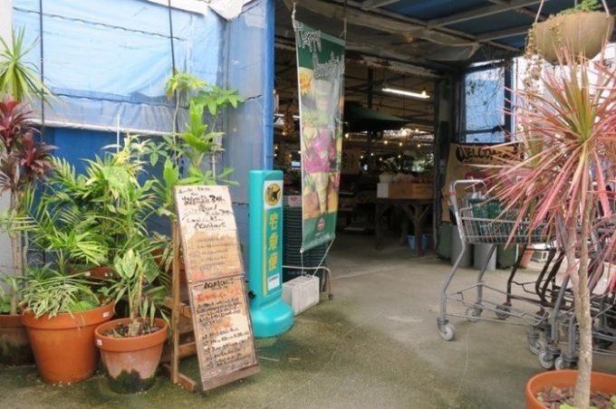 宜野湾「ハッピーモア市場」の入り口