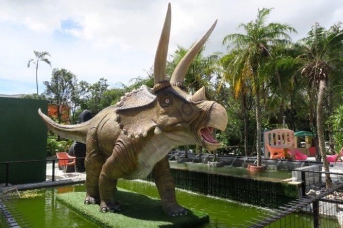 「ミニミニ動物園」にいた恐竜(その1)
