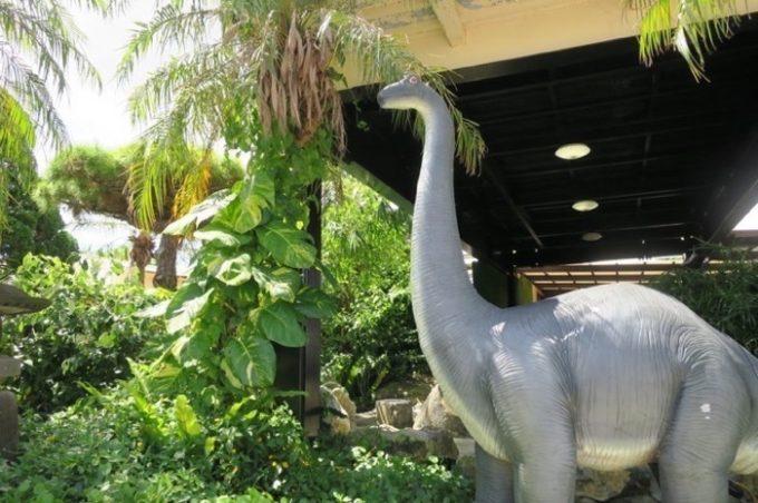 「ミニミニ動物園」にいた恐竜(その2)