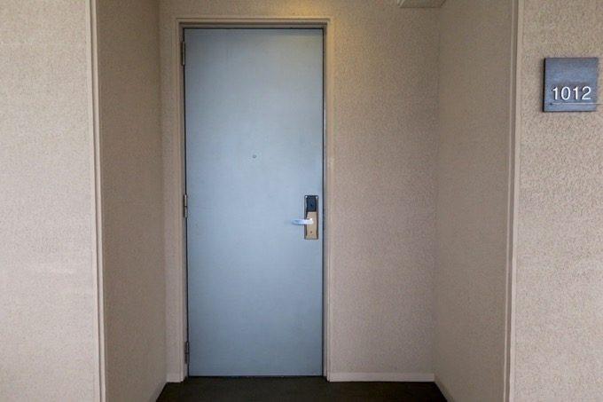 今回宿泊した1012号室。プレミアムスイート2ベッドルームだ。