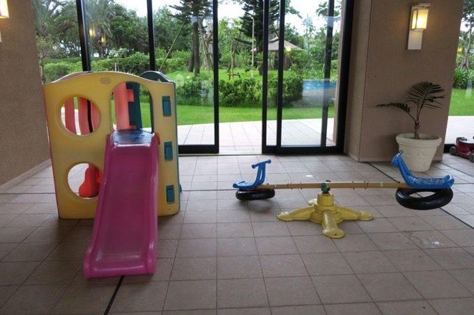 子供向けの遊具も用意されていた。