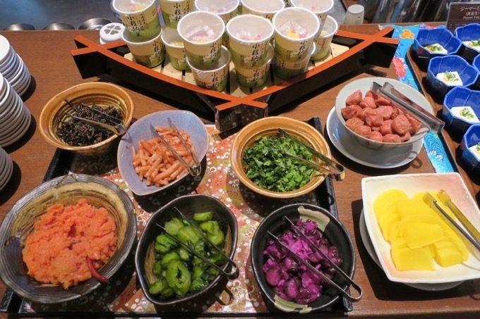 朝食会場「オーシャングリル」の和洋ビュッフェ(その4)