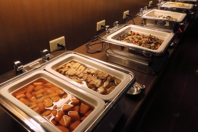 朝食会場「オーシャングリル」の和洋ビュッフェ(その6)