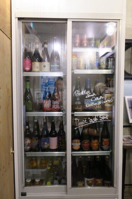 クラフトビアベースガーデンでは、ボトルビールも用意している。