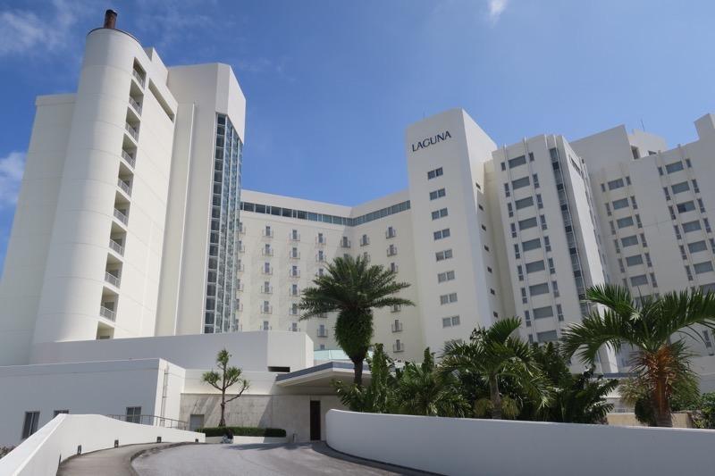 宜野湾「ラグナガーデンホテル」の外観
