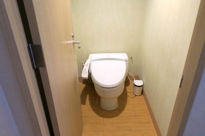 ツイン・イーストウィングのトイレ