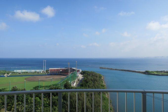 イーストウィング館10階からの眺め