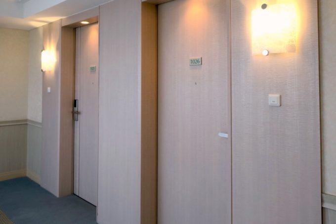 今回宿泊したのは、1026号室。