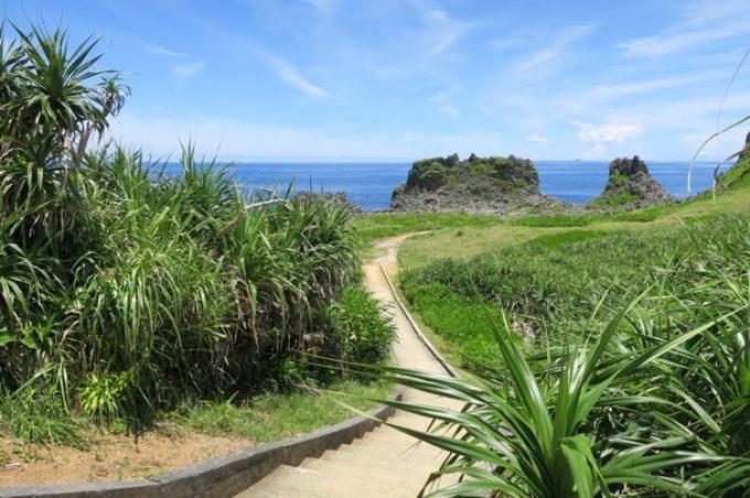 真栄田岬の遊歩道(その2)