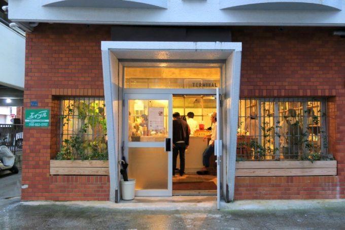 イベント会場となった、那覇・前島のクリエイティブスペースTERMINAL(ターミナル)。