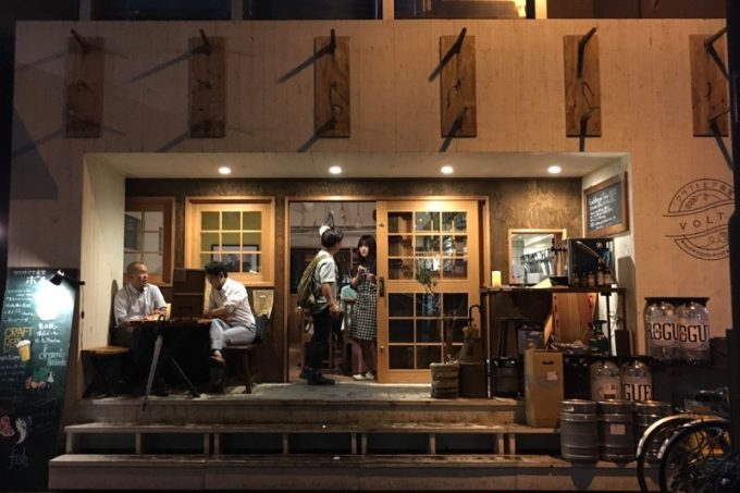 札幌・すすきの「クラフトビア食堂 VOLTA(ボルタ)」の外観