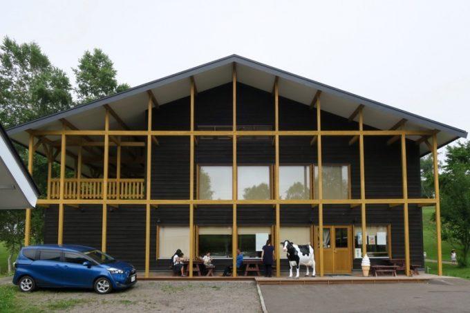 八雲にある元山牧場直営「ELFIN(エルフィン)」の外観