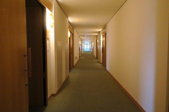 吉祥閣2階の宿坊通路。