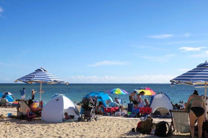 トリイビーチの様子(その3)