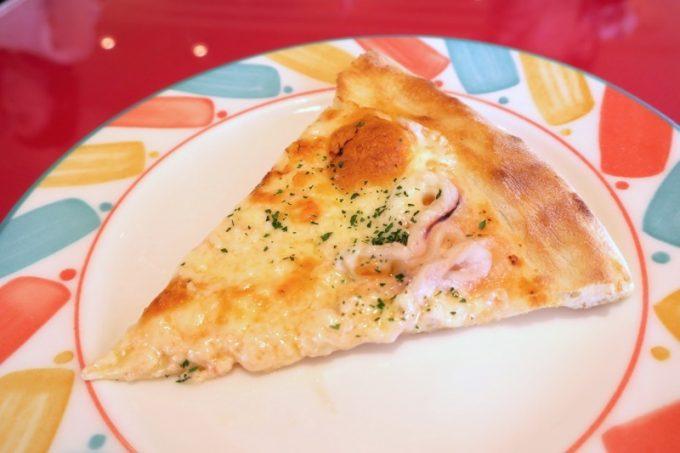 和風ベースのピザもある。