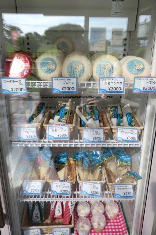 函館牛乳を使った各種マリボーチーズ