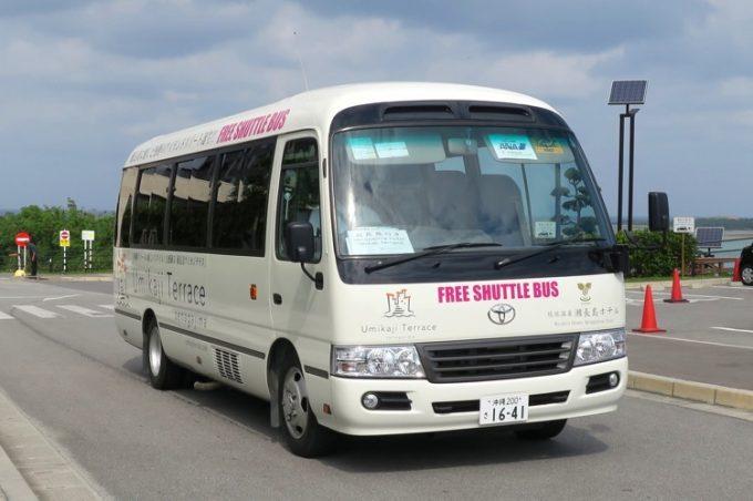 ウミカジテラスの無料送迎シャトルバス(その2)