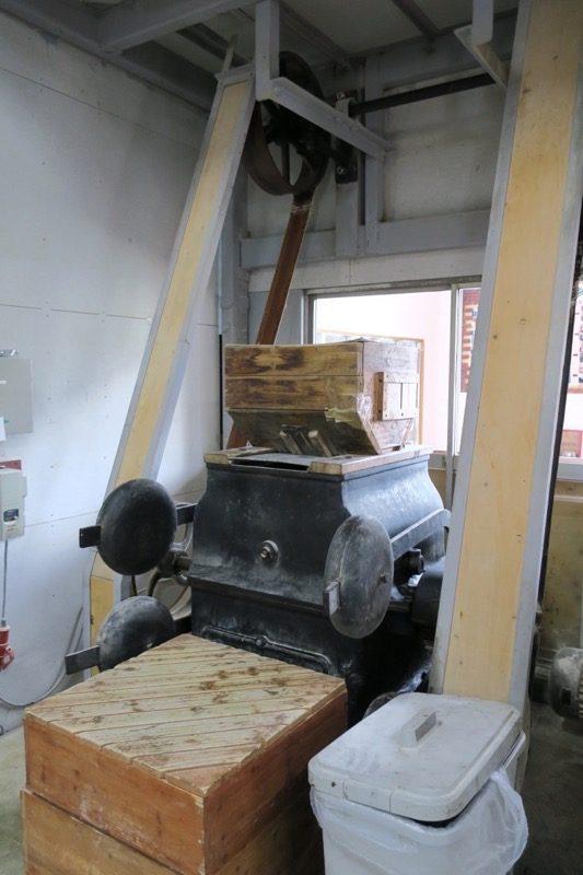 モルトの粉砕機。