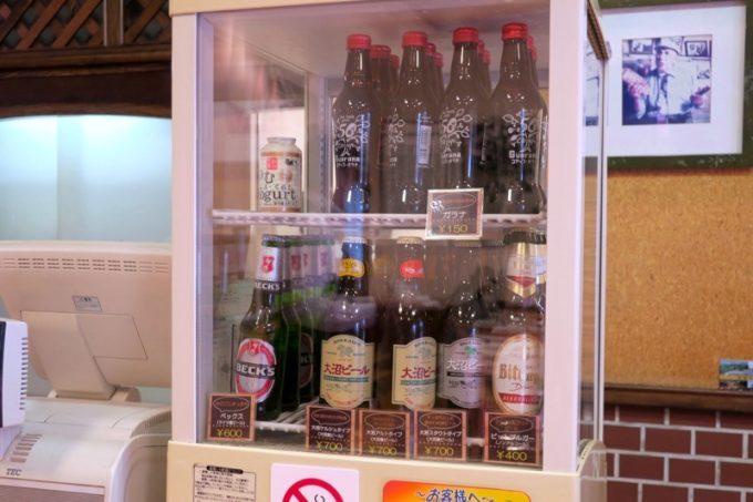 レイモンハウス元町店で販売しているビールやソフトドリンク