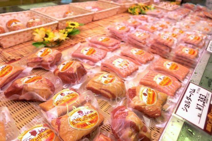 レイモンハウス元町店で販売されている加工肉類(その3)