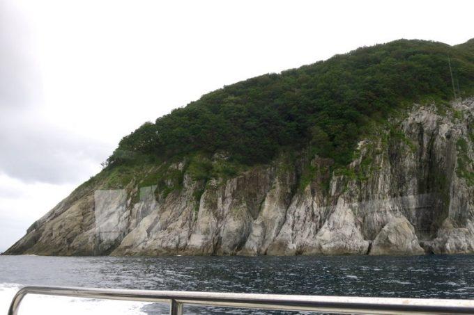 佐井村から仏ヶ浦へ向けた海岸線に見える風景(その3)