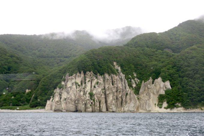 佐井村から仏ヶ浦へ向けた海岸線に見える風景(その4)
