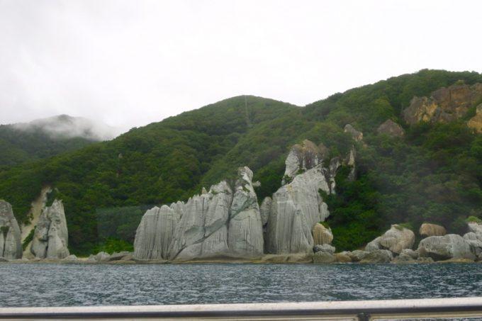 佐井村から仏ヶ浦へ向けた海岸線に見える風景(その5)