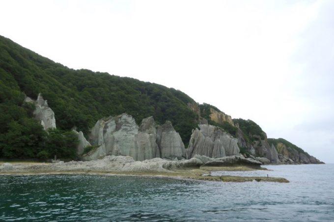 佐井村から仏ヶ浦へ向けた海岸線に見える風景(その6)