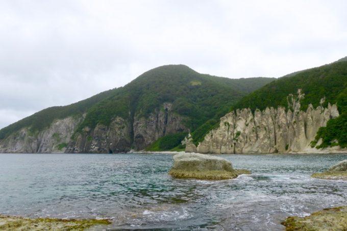 仏ヶ浦の船着場からの眺め(その1)
